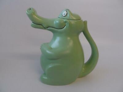 Carlton Ware  Green Alligator / Crocodile  Novelty Teapot • 18.99£