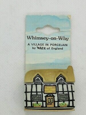 Wade Vintage Miniature Whimsey-on-wye House - The Why Knot Inn • 4.99£