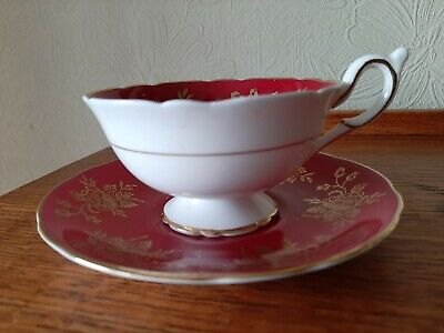 Foley Cup And Saucer  • 10£