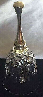 Glass Bell With Silver Plated Handle. • 2.50£