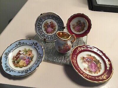 Limoges Miniature Collection X 5 • 5£