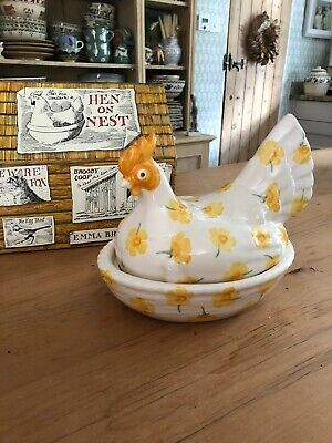 Emma Bridgewater Buttercup And Bee Large Hen On Nest - New - Boxed • 65£
