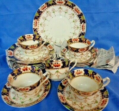 Antique Royal Stafford China Mona Blue 18 Pieces Tea China  • 10£