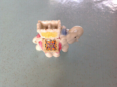 Vintage  Wade Whimsie Elephant From The Treasures Collection - Lead Elephant • 3.99£