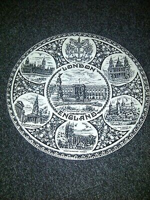 Wood And Sons London 10  Collectors Plate Rare Parliament West Minister • 5£