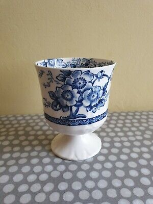 Alfred Meakin  Medway  Decor Blue Decorated Goblet • 9.99£