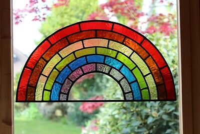 Stained Glass Rainbow • 125£