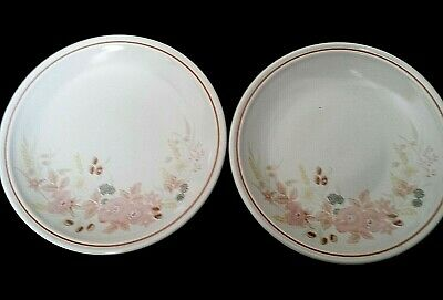 Boots Hedge Rose Pink Flowers 7¾ Inch Plates X2 ( 8 Available) • 11.99£