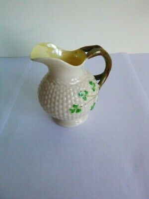 Belleek Jug 2nd Period Black Mark - Perfect Condition  • 21£