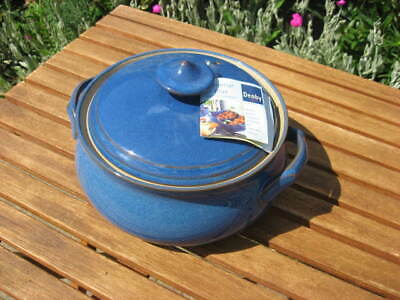 NEW DENBY IMPERIAL BLUE LIDDED TUREEN / CASSEROLE DISH - Discontinued • 40£