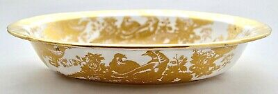 Royal Crown Derby *gold Aves* A.1235 Open Vegetable Dish '1st' Quality • 95£