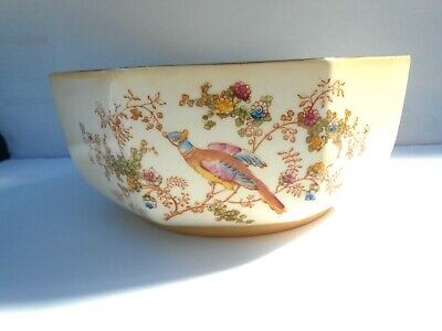 A Large Crown Ducal Bowl In Bird Of Paradise Pattern  • 5£