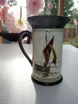 Royal Doulton Ships Series Seriesware D2872 Jug Pitcher 16cms High  • 30£