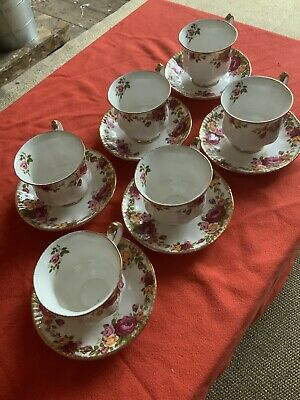 """Sheridan  """"Old Country Roses"""" 12 Piece Tea Set • 29.99£"""