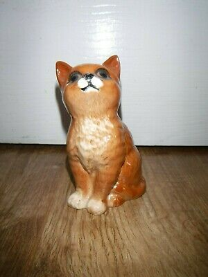 Exquisite Beswick Seated Ginger Cat ~ 1836 ~  Excellent • 14.99£