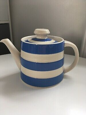 Cornish Blue Pottery Cloverleaf Teapot By T.G. Green • 4.99£