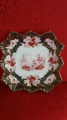 Supurb Stunning Royal Doulton Burslem 9  Very Highly Guilded Cabbinet Plate, • 75£