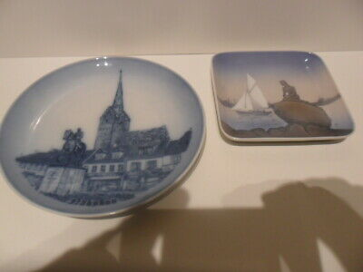 Two Wonderful Pieces Of Bing & Grondahl Porcelain  • 2.99£