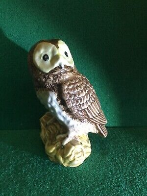 Vintage Early Beswick Owl Ceramic Figure No Numbers  • 5.99£