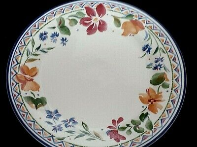 STAFFORDSHIRE Calypso 10¼ Inch Dinner Plate X1 (3 Available) • 8.50£