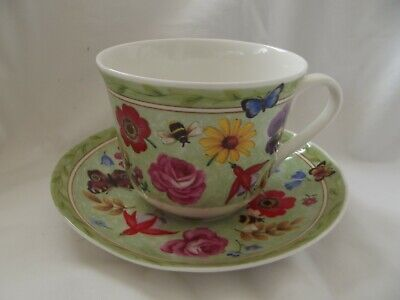 Roy Kirkham  Bone China Cup And Saucer   Summer Scents  • 10.99£