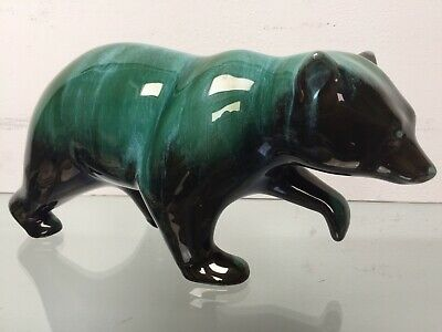 Beautiful Vintage Canadian BLUE MOUNTAIN POTTERY, Large 11'' Walking Bear EXC • 16.99£