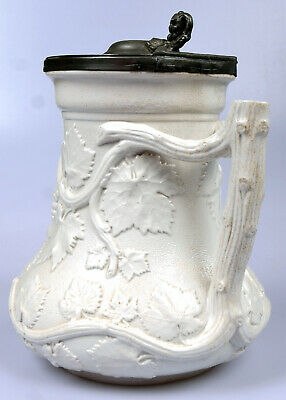 """Antique Early Victorian MINTON """"Society Of Arts"""" Prize Jug • 155£"""