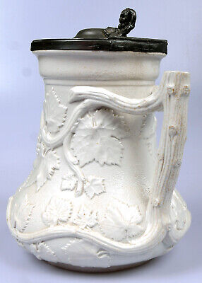 """Antique Early Victorian MINTON """"Society Of Arts"""" Prize Jug • 99£"""