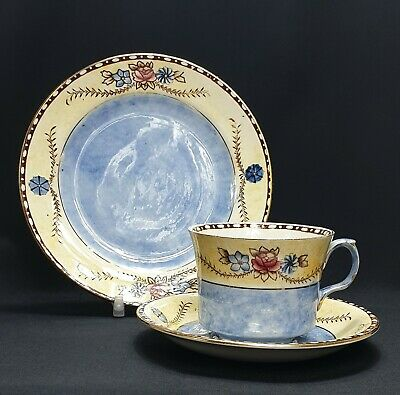 Vintage Grimwades Royal Winton Chelsea Hand Painted Trio Cup Saucer & Side Plate • 4.99£