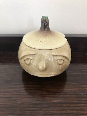 Sylvac Small Crying Onion Face Pot • 5£