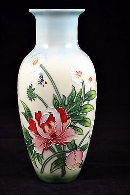 Old Tupton Ware English Garden Design Vase  22cm Boxed - Tw7904 • 29.50£