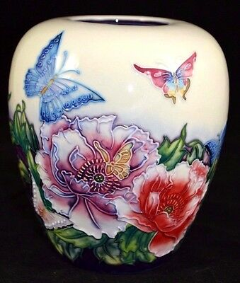 Old Tupton Ware 15cm Vase - Butterflies Design - TW3002 NEW BOXED • 23.50£