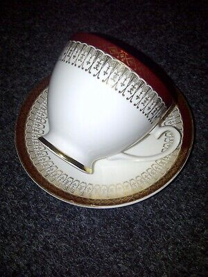 Royal Grafton Majestic Red Cup And Saucer • 4.50£