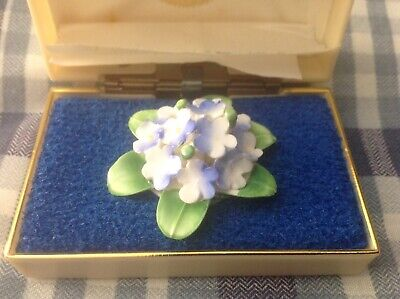 Vintage Royal Adderley Floral China Brooch.   Excellent Condition. • 3.99£