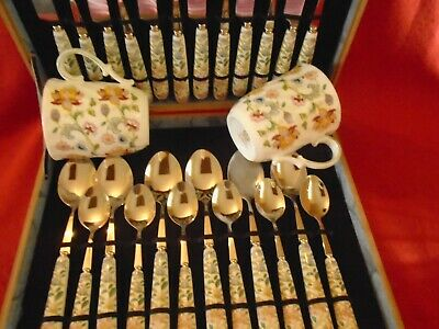 24pcs Canteen Of Cutlery That Compliments Haddon Hall Design Unused • 34.99£