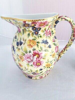 Lord Nelson Ware Ornamental Wall Hanging Floral Jug • 4.99£