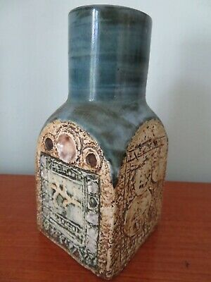 Superb Troika Spice Jar; Decorated By Jan Fitzgerald(1976 -1983) Great Condition • 110£