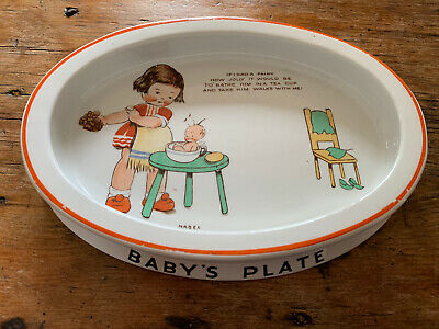 Shelley Baby's Plate • 35£