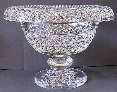 WATERFORD CRYSTAL VINTAGE LARGE TURNOVER BOWL - FABULOUS PIECE! (Ref5658) • 625£
