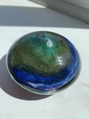 Phoenican Glass Paperweight Art Glass Paperweight Signed Phoenican • 0.99£