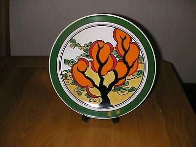 A Super  Clarice Cliff 10 Inch Charger  In Pristine Condition Must See • 20£