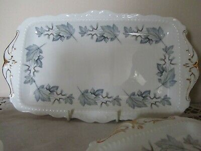 Royal Albert *silver Maple* Sandwich Tray/plate 30cms/11.75  - 3 Available • 20£