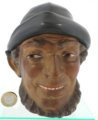 Antique Victorian Fisherman Toby Jug, Signed 19th Century  • 15£