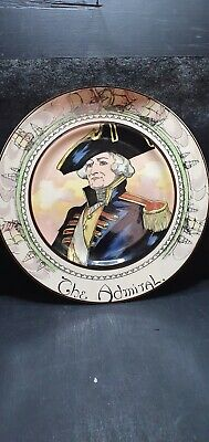 Royal Doulton Collectors Plate   The Admiral  • 3£
