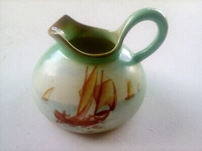 Vintage Ceramic Jug By The Foley - Titled Faience • 14.99£