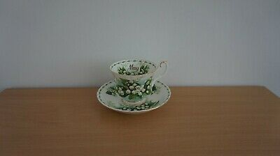 Royal Albert Flower Of The Month May Cup & Saucer • 14.50£