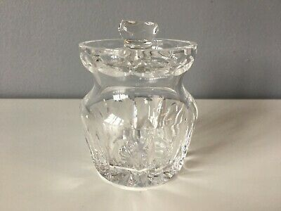 Tipperary Crystal Glass Preserve Pot • 4.50£