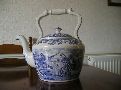 SPODE The Signature Collection 'Rural Scenes' Large Kettle Teapot  • 380£
