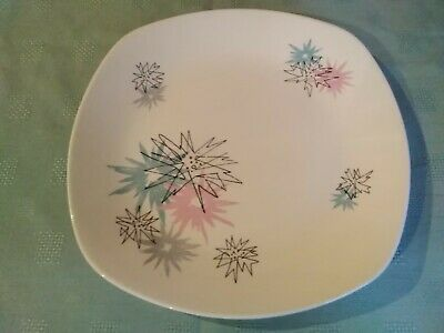 Midwinter Stylecraft Quite Contrary Dinner Cake Plate Designed By Jessie Tait • 5£