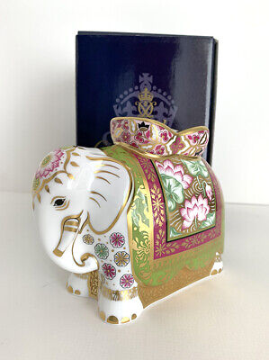 Royal Crown Derby Limited Edition Rani (Indian Elephant Mother) Paperweight  • 121.95£